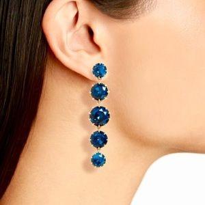 SALE🔥 NWT J. Crew Crystal Drop Earrings